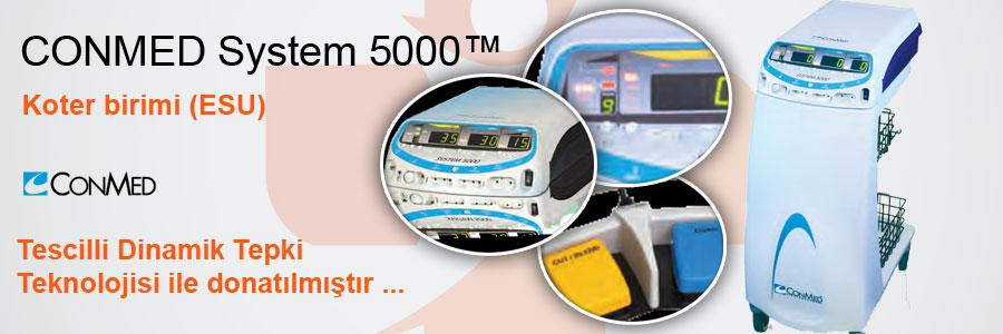 CONMED-Sistem-5000-Kote-birimi-esu