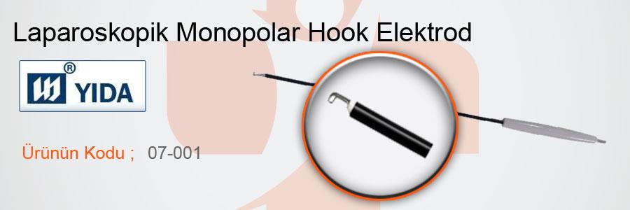 YIDA-Laparoskopik-Monopolar-Hook-Elektrod