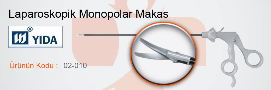 YIDA-Laparoskopik-Monopolar-Makas